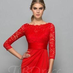 TB Dress Silver NEW Size 6